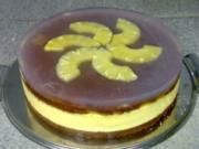 Ananas-Aprikosen-Maracuja-Joghurt-Torte - Rezept