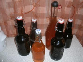 Apfel- Ingwer- Sirup - Rezept