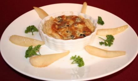 Warmer Käsekuchen - Rezept