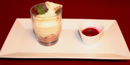 White Chocolate-Ginger-Cheesecake - Rezept