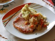 Kasseler mit Birnen-Sauerkraut - Rezept