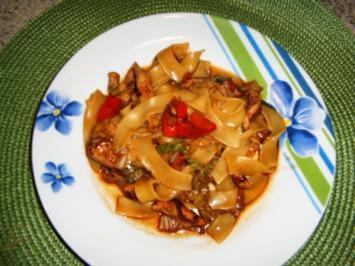Chinakohl-Nudel -Pfanne - Rezept