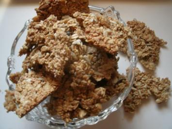 Knusperbrot-Körnersnack- vollwertig - Rezept