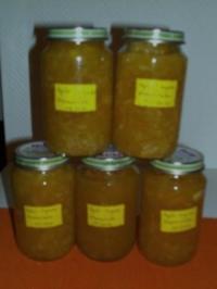 Apfel-Ingwer-Marmelade - Rezept
