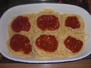 Spaghetti-Nester - Rezept