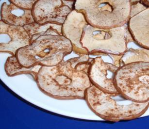 Apfel und Birnensnack aus dem Backofen - Rezept
