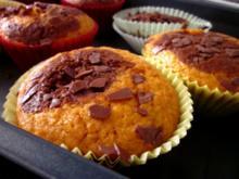 Kürbis-Marmor-Muffins - Rezept
