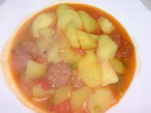 Kartoffeltopf mit Chorizo - Rezept