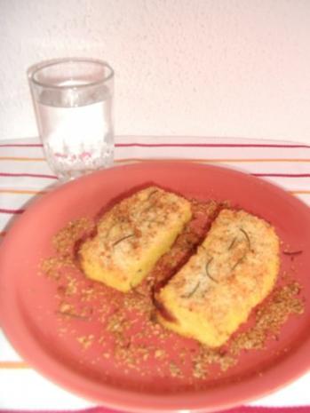 Polenta-Käse-Schnitten - Rezept