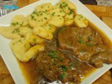 Bierfleisch mit Gnocchi - Rezept
