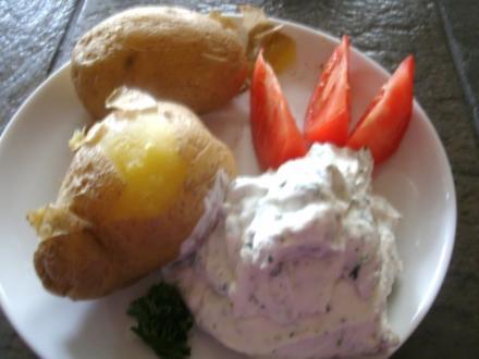 Die schnelle Kartoffel aus der Welle - Rezept