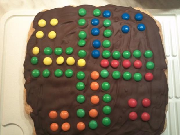Mensch ärger Dich nicht - Kuchen - Rezept