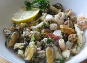 Meeresfrüchtesalat - Rezept