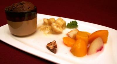 Rezept: Kuchen mit Früchten