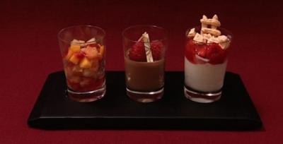 Dreierlei Dessertvariationen (Willi Lemke) - Rezept