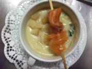 Blumenkohlsuppe mit gebeiztem Lachs - Rezept