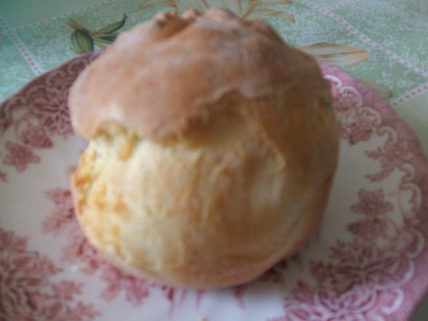 Kürbis-Crem-Suppe  mit  ( selbstgebackenen Brötchen ) - Rezept - Bild Nr. 5