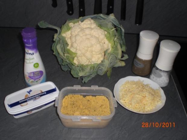 Blumenkohl in Käsesahnesoße überbacken - Rezept - Bild Nr. 2