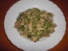 Reispfanne mit Hack und Erbsen - Rezept