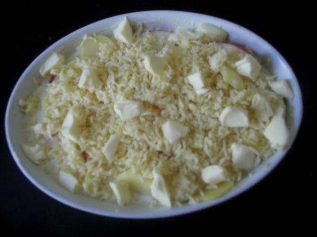 Apfel-Sellerie-Gratin - Rezept
