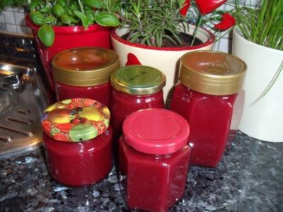 Pflaumen-Lebkuchen-Marzipan-Marmelade - Rezept