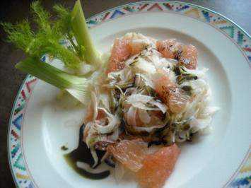 Rezept: Fenchel - Grapefruit - Salat