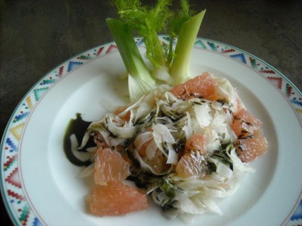 Fenchel - Grapefruit - Salat - Rezept - Bild Nr. 2
