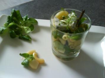 Feldsalat mit Roquefort und Birnen - Rezept