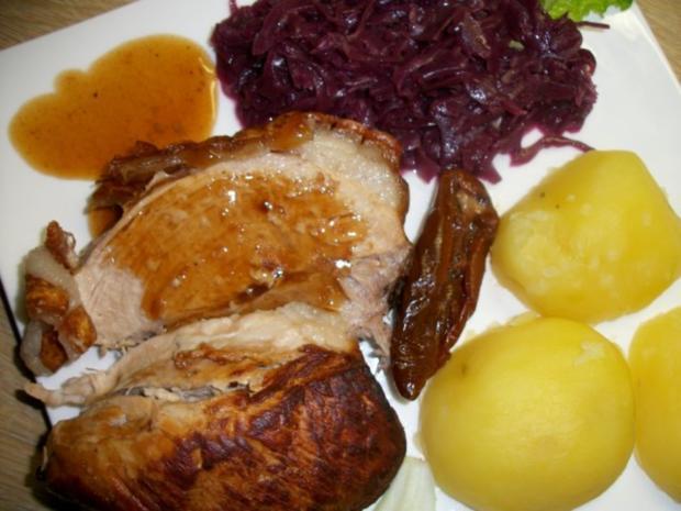 Schweine Schinkenkrustenbraten mit selbst Zubereiteten Soßenfond - Rezept - Bild Nr. 3