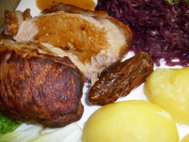 Schweine Schinkenkrustenbraten mit selbst Zubereiteten Soßenfond - Rezept - Bild Nr. 4