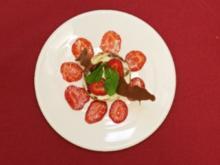 Champagnertörtchen mit marinierten Erdbeeren (Claus Vincon) - Rezept