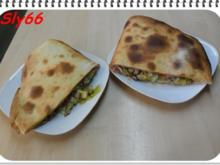 Pizza:Calzone di Verdura con Tonno - Rezept