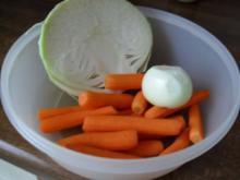 Karottensalat mit weißkraut - Rezept