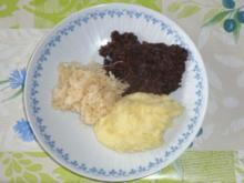 Grützwurst mit Rahmsauerkraut und Kartoffelpüree - Rezept