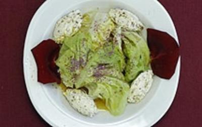 Rosensalat mit Wassermelone (Thure Riefenstein) - Rezept