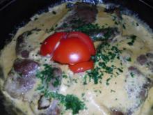 Koteletts in Knoblauchsoße - Rezept
