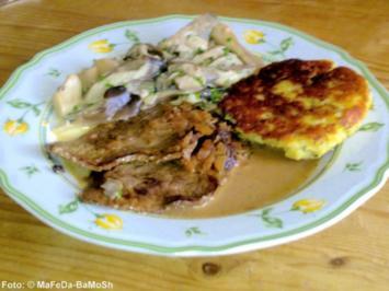 Rinderminuten-Steaks in Rotweinsauce - Rezept