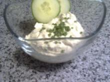 Dipp aus Frischkäse - Rezept