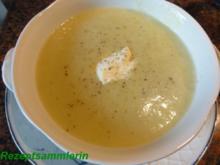 Suppe:     ROMANESCO - RAHM - Rezept