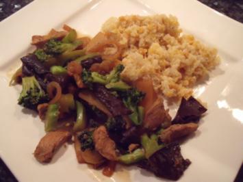 Rezept: Asiatisches Wok-Hähnchen