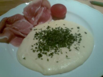 Käse-Kartoffel-Püree - Rezept
