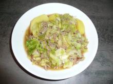 Spitzkohleintopf (Hausmannskost) - Rezept