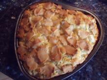 Marzipan-Birnen-Kuchen - Rezept