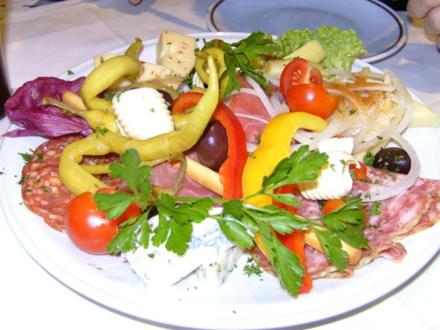 Italienischer Vorspeisenteller - Rezept