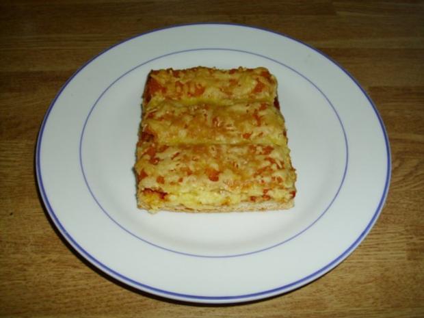 Fischstäbchen Pizza - Rezept - Bild Nr. 2