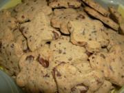Schoko-Dinkel-Kekse - Rezept