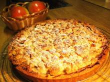Apfelkuchen aus Mürbteig ... - Rezept