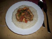 Asiatische Fleischpfanne - Rezept