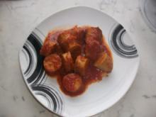 Currywurst nach meiner Art - Rezept