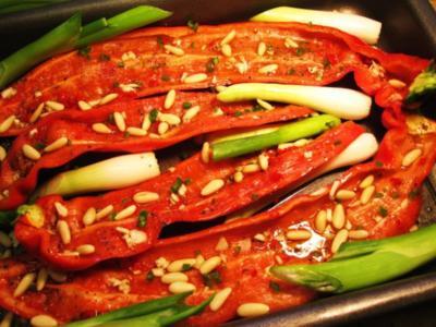 Spitzpaprika aus dem Ofen ... - Rezept